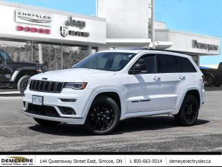 Used 2021 Jeep Grand Cherokee LIMITED X | COMPANY DEMO | NAV | ROOF for sale in Simcoe, ON