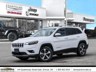 Used 2019 Jeep Cherokee LIMITED | SUNROOF | NAVIGATION | LEATHER for sale in Simcoe, ON