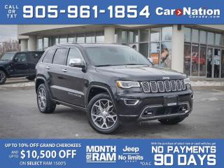 Used 2020 Jeep Grand Cherokee Overland 4x4| COMPANY DEMO| HEMI| PRO TECH GROUP| for sale in Burlington, ON