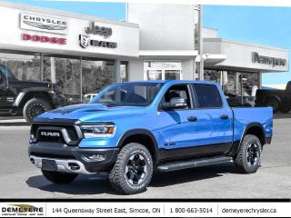 New 2021 RAM 1500 REBEL | LEATHER SEATS | REMOTE STARTER for sale in Simcoe, ON