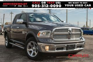 Used 2017 RAM 1500 LARAMIE | LEATHER | SUNROOF | 1 OWNER | for sale in Hamilton, ON