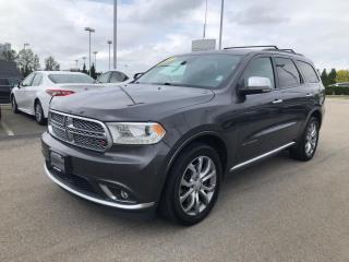 Used 2017 Dodge Durango Citadel Platinum for sale in Surrey, BC