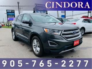 Used 2016 Ford Edge SEL, NAV, Heated Seats for sale in Caledonia, ON
