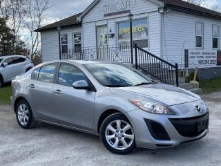 Used 2011 Mazda MAZDA3 1-Owner No-Accidents LOW K Leather Sunroof Heated Seats MINT for sale in Sutton, ON