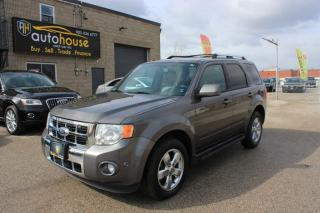 Used 2012 Ford Escape 4WD/V6/LIMITED/ECO/REARVIEW CAMER/NAV/ACCIDENT FREE for sale in Newmarket, ON