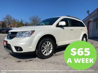 Used 2016 Dodge Journey SXT for sale in Mitchell, ON