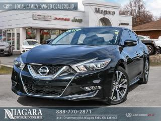 Used 2017 Nissan Maxima Platinum | Local Trade for sale in Niagara Falls, ON