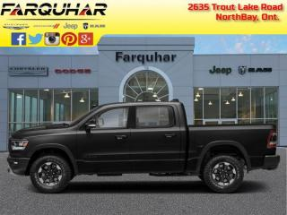 Used 2019 RAM 1500 Rebel -  Android Auto - $357 B/W for sale in North Bay, ON