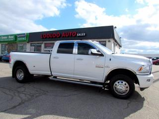 Used 2015 RAM 3500 LIMITED DUALLY CUMMINS Crew Cab LWB 4WD Certified for sale in Milton, ON