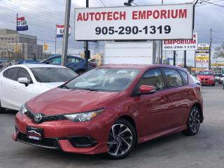 Used 2018 Toyota Corolla iM Camera/Heated Seats/Collision Lane Depat/GPS* for sale in Mississauga, ON