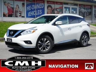Used 2017 Nissan Murano SL  NAV CAM ROOF LEATH P/SEATS HTD-S/W 18-AL for sale in St. Catharines, ON