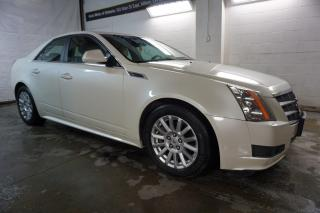 Used 2010 Cadillac CTS LUXURY CERTIFIED 2YR WARRANTY BLUETOOTH HEATED LEATHER CHROME CRUISE for sale in Milton, ON