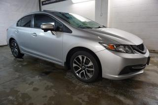 Used 2014 Honda Civic EX PKG TWO CAMERAS CERTIFIED 2YR WARRANTY SUNROOF BLUETOOTH HEATED SEAT ALLOYS for sale in Milton, ON