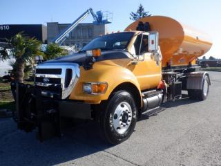 Used 2011 Ford F-750 Tank Plow Sander Hook Truck  2WD Dually Diesel for sale in Burnaby, BC