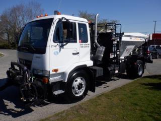 Used 2010 Nissan UD3000 Air Brakes Diesel Air Brakes Diesel Vacuum Operated Rock Transfer Emulsion Coating for sale in Burnaby, BC