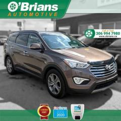 Used 2014 Hyundai Santa Fe XL Luxury - Accident Free w/Third-row, AWD, Heated Seats, Backup Camera for sale in Saskatoon, SK