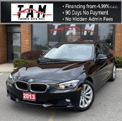 Used 2013 BMW 3 Series 328i xDrive Sedan Sunroof Leather Rear Parking Distance Clean Carfax for sale in North York, ON