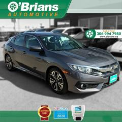 Used 2016 Honda Civic Sedan EX-T for sale in Saskatoon, SK
