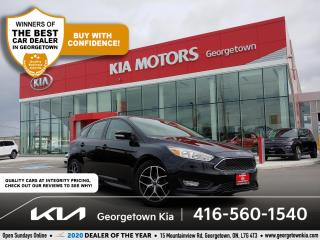 Used 2018 Ford Focus SE | BU CAM | HTD SEATS | B/TOOTH | ALLOYS | 48 K for sale in Georgetown, ON