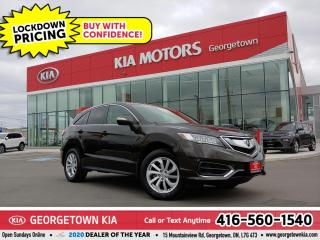 Used 2017 Acura RDX TECH PKG | LTHR | NAV | SUNROOF | HTD SEATS | 50 K for sale in Georgetown, ON