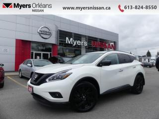 Used 2018 Nissan Murano AWD Midnight Edition  - Navigation - $209 B/W for sale in Orleans, ON