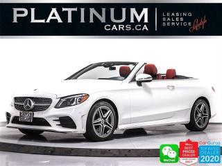 Used 2019 Mercedes-Benz C-Class C300 4MATIC CONVERTIBLE, DISTRONIC, AMG PKG, CAM for sale in Toronto, ON