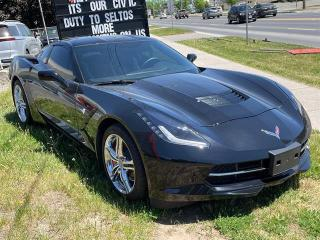 Used 2017 Chevrolet Corvette COUPE Z51 for sale in Peterborough, ON
