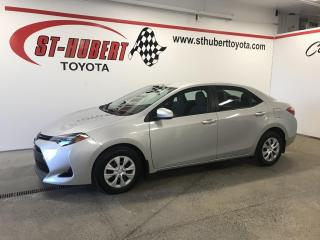 Used 2018 Toyota Corolla CE CVT, CAMÉRA DE RECUL for sale in St-Hubert, QC