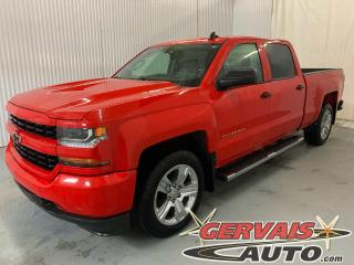 Used 2018 Chevrolet Silverado 1500 Custom V8 Crew Cab 4x4 Mags Caméra A/C for sale in Shawinigan, QC