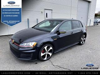 Used 2017 Volkswagen Golf GTI Autobahn à hayon 5 portes BM for sale in Victoriaville, QC