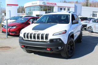 Used 2017 Jeep Cherokee Trailhawk 4 portes 4 roues motrices for sale in Shawinigan, QC