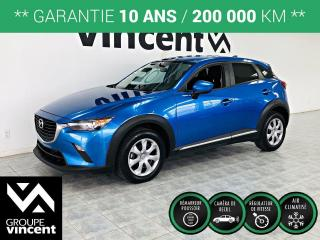 Used 2017 Mazda CX-3 GX ** GARANTIE 10 ANS ** Agilité et fiabilité! for sale in Shawinigan, QC