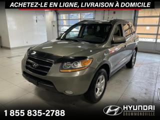 Used 2009 Hyundai Santa Fe GLS 4X4 AWD + TOIT + MAGS + CRUISE + WOW for sale in Drummondville, QC