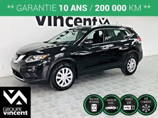 Used 2015 Nissan Rogue S AWD ** GARANTIE 10 ANS ** Conduite silencieuse et habitacle spacieux! for sale in Shawinigan, QC