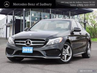 Used 2018 Mercedes-Benz C-Class C 300 - STAR CERTIFIED ! for sale in Sudbury, ON