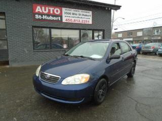 Used 2005 Toyota Corolla CE for sale in St-Hubert, QC