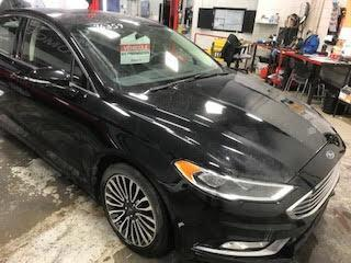 Used 2018 Ford Fusion TITANIUM AWD MAGS CUIR TOIT GPS CAMÉRA DE RECUL for sale in Île-Perrot, QC