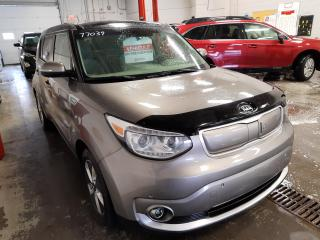 Used 2017 Kia Soul EV EV+ Luxury A/C Mags Cuir Toit Pano GPS Caméra for sale in Île-Perrot, QC