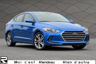 Used 2017 Hyundai Elantra GLS + Toit ouvrant + Camera for sale in Ste-Julie, QC