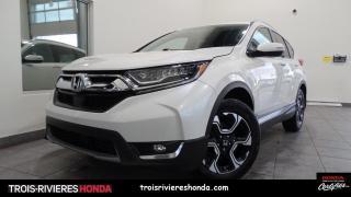 Used 2017 Honda CR-V TOURING + AWD + HONDA SENSING + TURBO ! for sale in Trois-Rivières, QC