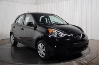 Used 2017 Nissan Micra S Auto A/C Bluetooth for sale in St-Hubert, QC
