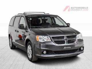 Used 2018 Dodge Grand Caravan CREW +  CUIR NAV SLIDING DOOR ELECTRIQUE MAGS for sale in St-Hubert, QC