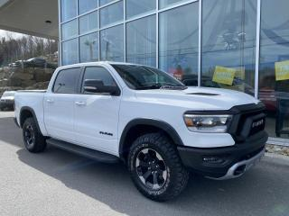 Used 2020 RAM 1500 REBEL , CREW , 4X4 , ÉCRAN 12' , WIFI , for sale in Ste-Agathe-des-Monts, QC