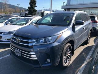 New 2018 Toyota Highlander XLE for sale in North Vancouver, BC