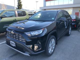 New 2021 Toyota RAV4 LIMITED  for sale in North Vancouver, BC