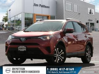 Used 2016 Toyota RAV4 LE AWD - LOCAL - ONE OWNER - LOW MILEAGE for sale in North Vancouver, BC