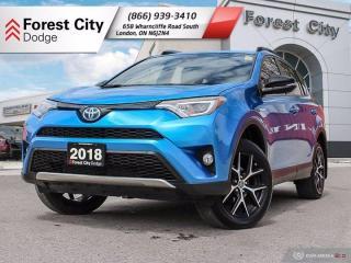 Used 2018 Toyota RAV4 Hybrid SE for sale in London, ON