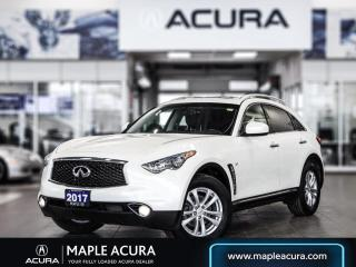 Used 2017 Infiniti QX70 for sale in Maple, ON