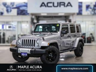 Used 2015 Jeep Wrangler Unlimited Sahara  ***SOLD*** for sale in Maple, ON