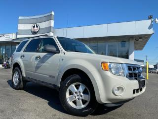 Used 2008 Ford Escape XLT FWD 2.3L 4CYL ONLY 163KM for sale in Langley, BC